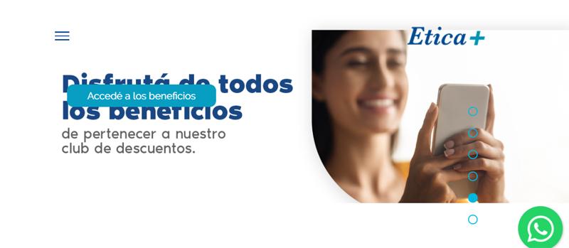 """Prestadora de Salud Etica+ busca consultora de PR """"pero chica"""""""